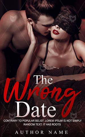 Romance-book-cover-Red-Love-Date-Blind-romance-Glamour-Together-Passion-Dirtycouple-Attractive-Seductive