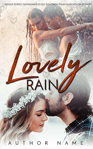 Romance-book-cover-romance-rain-kissing-couple-distant-premade-covers-romantic-copule