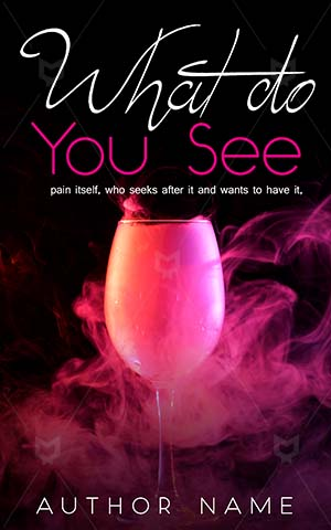 Romance-book-cover-See-Love-Glass-Art-Abstract-Cover-symbol-Pink-Creative-Fantasy-Motion-Smoke-Premade-fantasy-covers