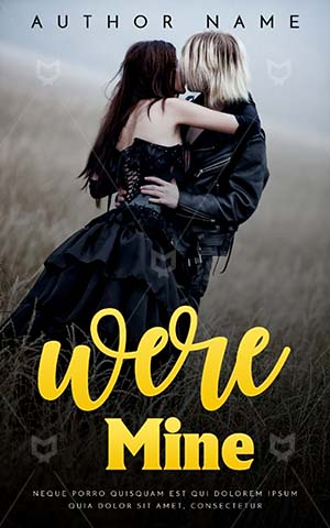 Romance-book-cover-Young-Outdoors-Couple-Goth-Kiss-Kissing-Side-view-Gothic-woman-Romantic-Standing-Embrace-Loving-Passion-Kisses