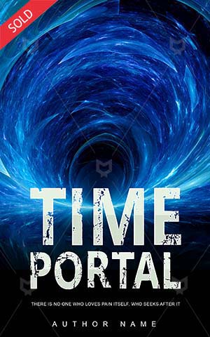 SCI-FI-book-cover-time-portal-adventure