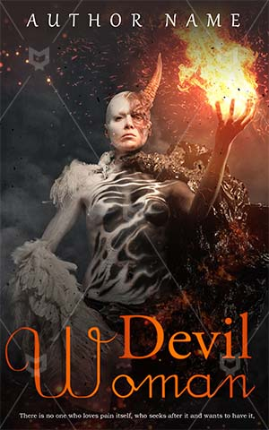 SCI-FI-book-cover-scary-horror-fiction-fire-woman-zombie