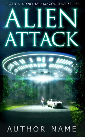 SCI-FI-book-cover-Alien-man-attack-light-fantasy