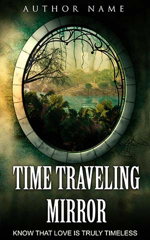 SCI-FI Book cover Design - Time Traveling Mirror