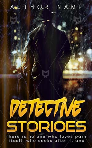 Thrillers-book-cover-Detective-Premade-covers-thriller-Illustration-Dark-Style-Retro-Agent-Investigator-Stories