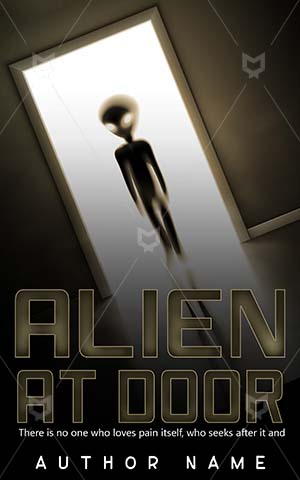 Thrillers-book-cover-Door-Alien-Vector-thrillers-Fantasy-Futuristic-Entrance-Entering-Premade-covers-thriller-Looking-Mystery