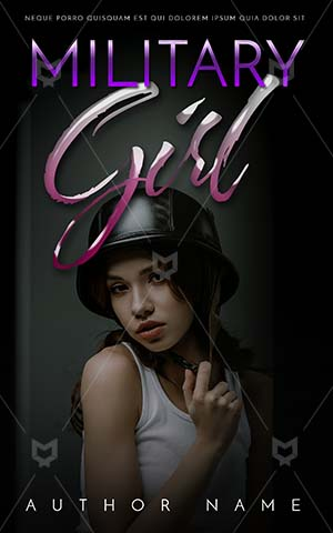 Thrillers-book-cover-Girl-Beautiful-Army-Book-Covers-Fashionable-Helmet-Military-helmet-Story