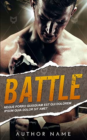 Thrillers-book-cover-Man-Fighting-Battle-Fighter-Sport-Competitive-Boxing-Premade-covers-thriller-Rough-Young-Player