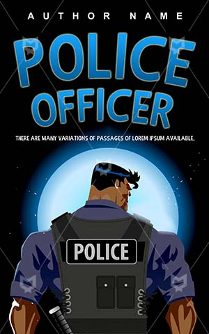 Thrillers-book-cover-Man-Police-Vector-Male-Protection-Officer-Illustrations-Bodyguard-Thriller-covers-Safety-Security