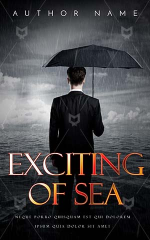 Thrillers-book-cover-Umbrella-Man-Alone-Sea-Rain-Rich-man-Business-Argent-In-Businessman-Scary-Killer-Book-Covers
