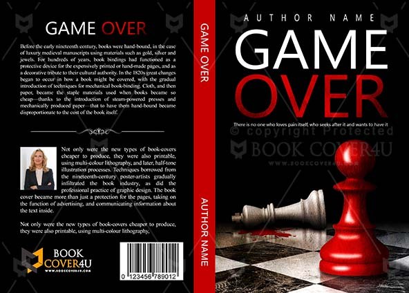 photograph about Game Covers Printable referred to as Thrillers Guide deal with Layout - Recreation Earlier mentioned